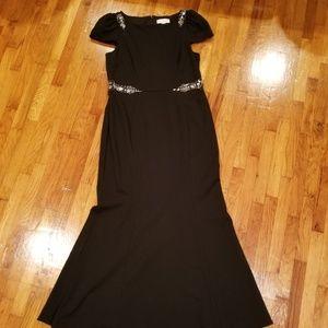 Women's Black Evening Gown